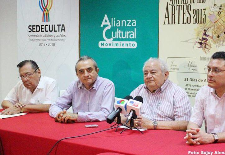 Presentación del concierto que rendirá homenaje a Gustavo Río Escalante. (Milenio Novedades)