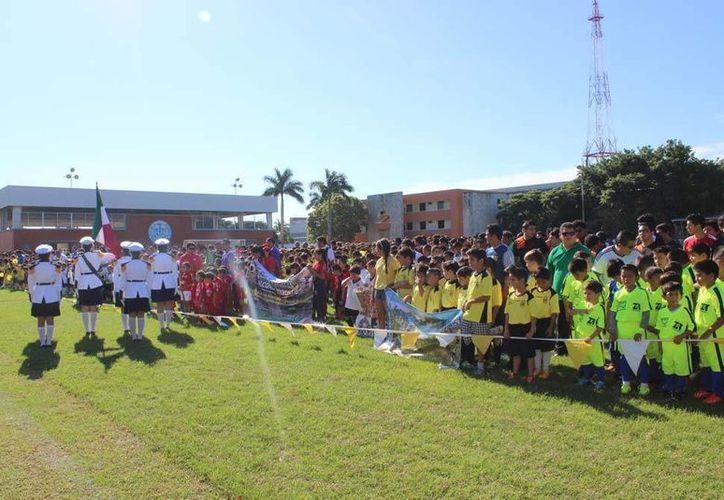 La Liga Juan N. Cuevas dio inicio este fin de semana en las instalaciones de la Escuela Modelo. (Milenio Novedades)