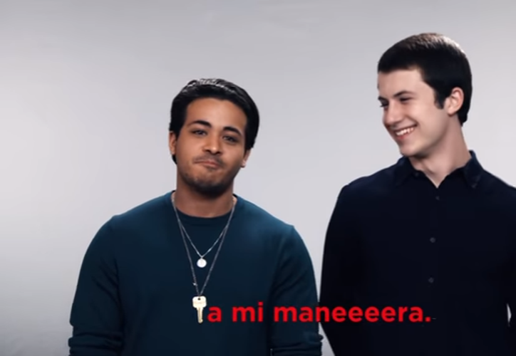 El video publicitario del servicio de streaming, publicado en la cuenta de YouTube de Netflix Latinoamérica, se está haciendo viral. (Captura Youtube).