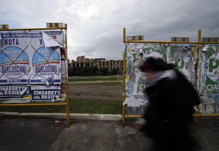 La inestabilidad política en Italia golpea a toda Europa. (Agencias)
