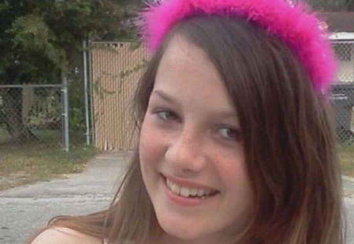 Rebecca Sedwick se suicidó al saltar al vacío desde una torre en septiembre pasado. (usatoday.com)