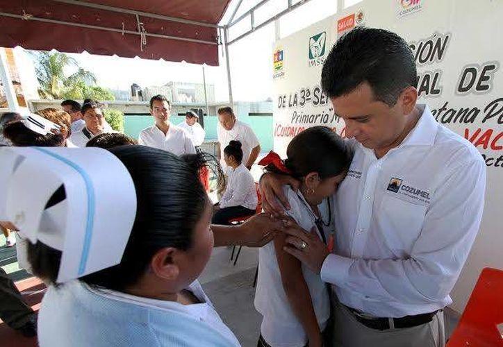 Se aplicarán las vacunas del 22 al 28 de febrero. (Cortesía/SIPSE)