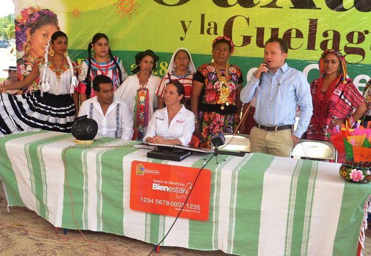 El evento permite acercar a los chetumaleños la cultura oxaqueña. (Cortesía/SIPSE)
