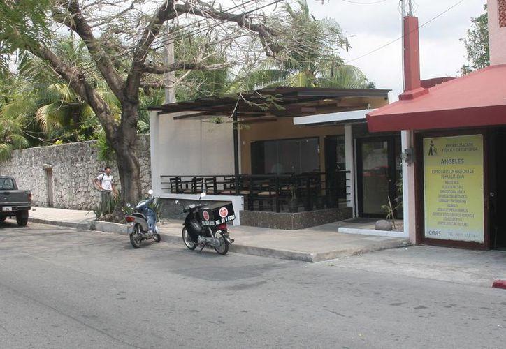 La policía detuvo al presunto ladrón y recuperó los bienes robados del restaurante hurtado.  (Julian Miranda/SIPSE)