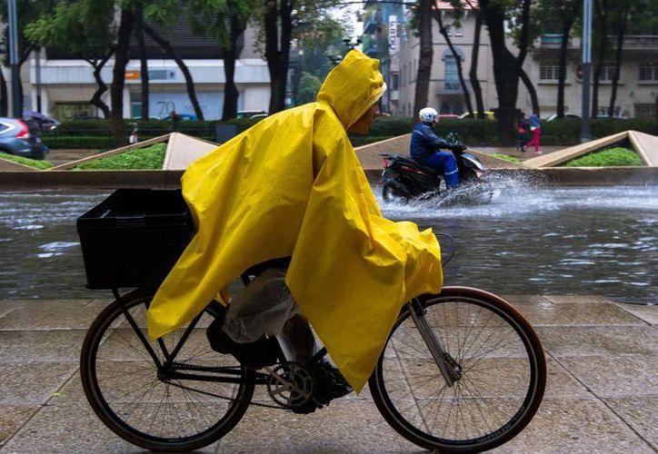 Se estima que en la Península de Yucatán las lluvias serán fuertes y en Campeche y Quintana Roo intensas. (Notimex)