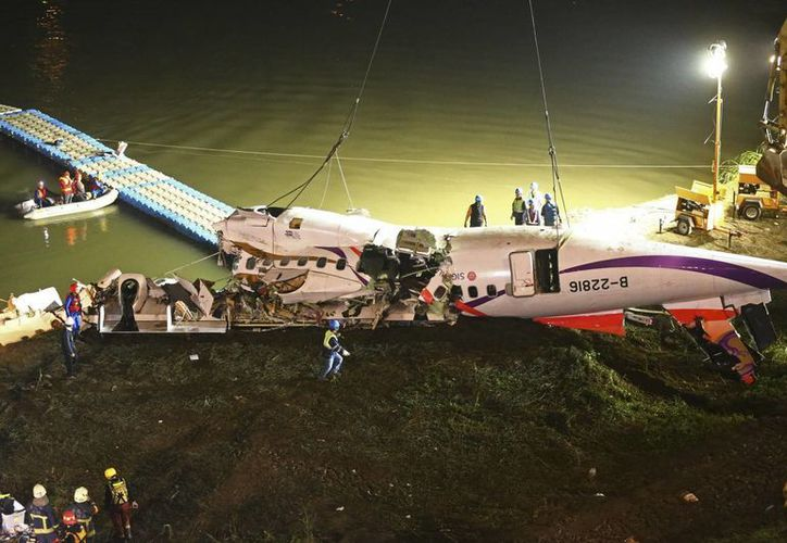 El desplome del avión de TransAsia Airways es el segundo accidente de ese tipo en Asia registrado en menos de seis meses. (AP)