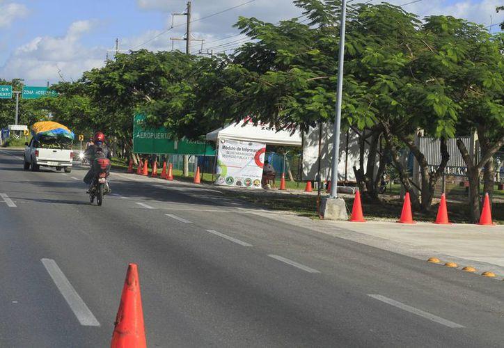 Autoridades de seguridad instalarán puntos de atención y revisión. (Sergio Orozco/SIPSE)