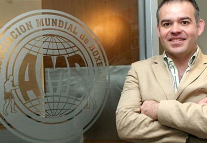 El objetivo de Gilberto Jesús Mendoza, presidente de la Asociación Mundial de Boxeo (AMB), es unir al sector. (Contexto/ Internet)