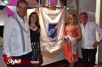 Cena navideña Skal International Cancún