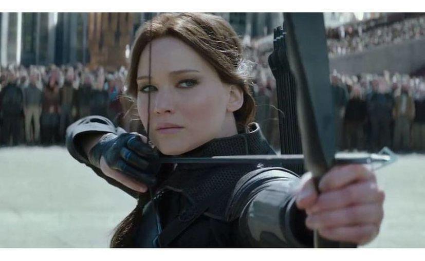 Jennifer Lawrence vuelve a protagonizar la película, la foto corresponde a una escena del filme. (expreso.com.pe)