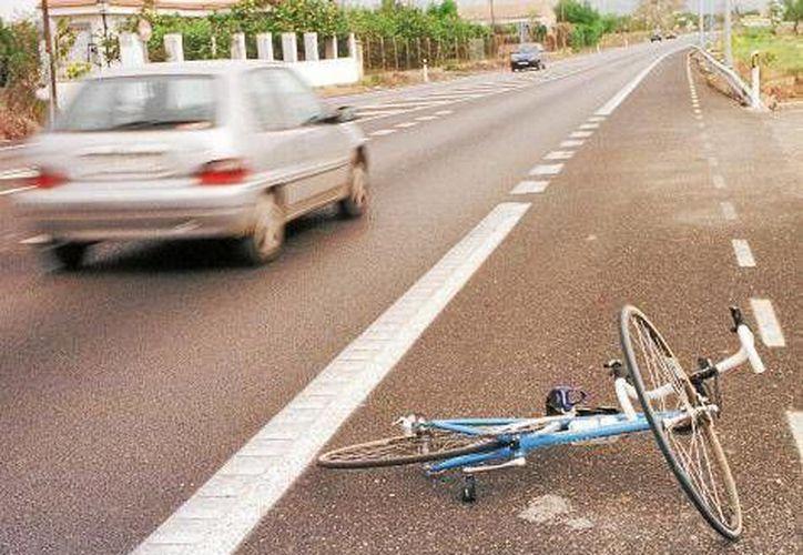 El accidente de ciclistas se produjo en  el interior del parque ecológico La Huasteca. (bicihome.com/Foto de contexto)