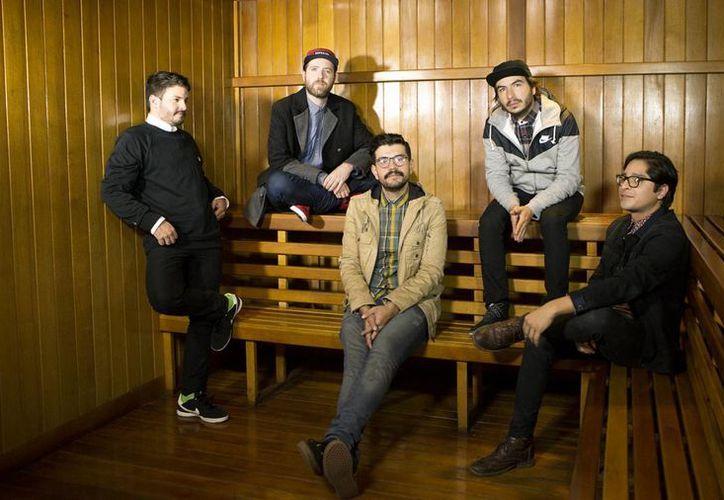 """Joaquín (bajo), Raúl """"Yogui"""" (Guitarra), Juan Pablo (Voz), Abraham (Bateria), Daniel (Teclados) ofrecerán concierto gratuito. (Foto de Contexto/Internet)"""