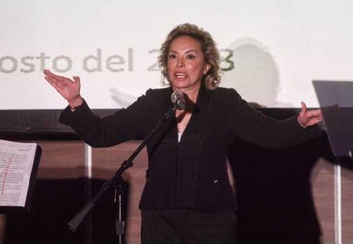 Elba Esther Gordillo, ex lideresa del Sindicato Nacional de Trabajadores de la Educación (SNTE). (Cuarto Oscuro)