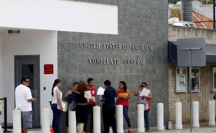 El año pasado la sede consular tramitó y entregó en promedio 45 mil visas. (Archivo/Sipse)
