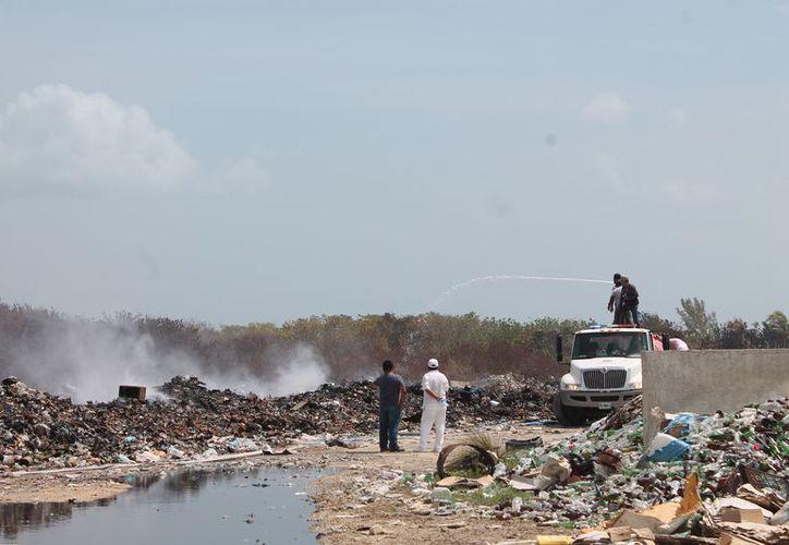 La basura debe ser retirada del sitio de transferencia. (Gloria Poot/SIPSE)