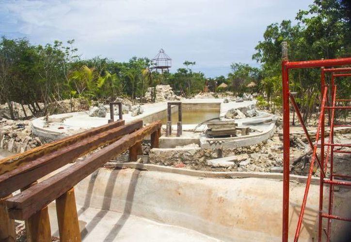 El parque  acuático abrirá sus puertas en diciembre. (Gerardo Amaro/SIPSE)