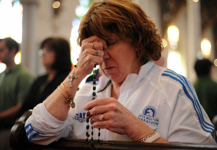 El domingo ,los oficios religiosos en Boston estuvieron dedicados al suceso que conmocionó a Estados Unidos. (Archivo/Agencias)