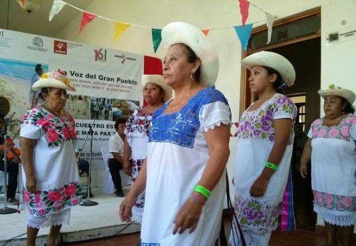 Se presentará el grupo de maya Paax Ooxtul Mayajo'on y Vaqueras Mayas, de la alcaldía de Señor.