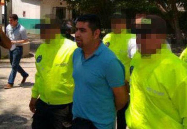 Integrantes de la Policía Nacional de Colombia y la Interpol capturaron a dos supuestos integrantes del Cartel de Sinaloa de México, liderado por el capo Joaquín 'el Chapo' Guzmán. (elheraldo.co)