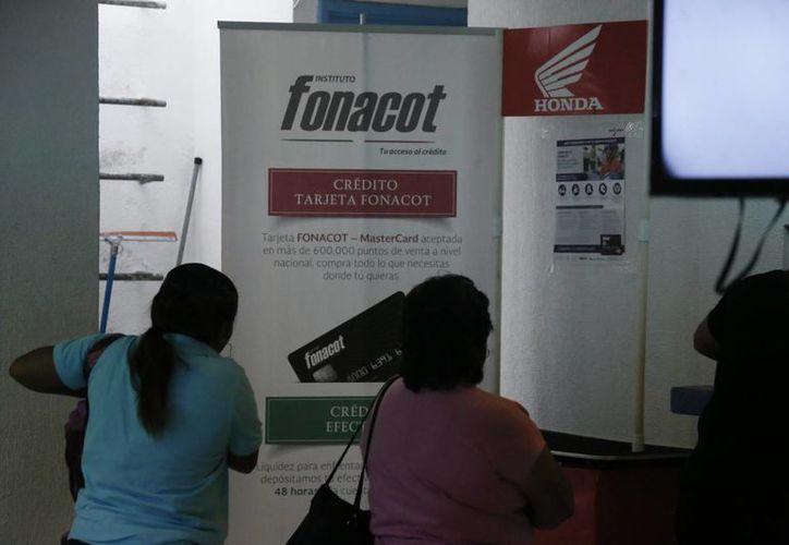 Los trabajadores decidirán si adquieren los beneficios del Fonacot. (Israel Leal/SIPSE)