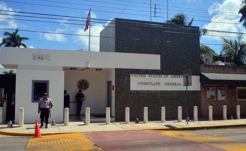 El programa Viajero Confiable se aplica en el Consulado en Mérida a quienes van con frecuencia a Estados Unidos y desean acelerar su ingreso a ese país. (Milenio Novedades)