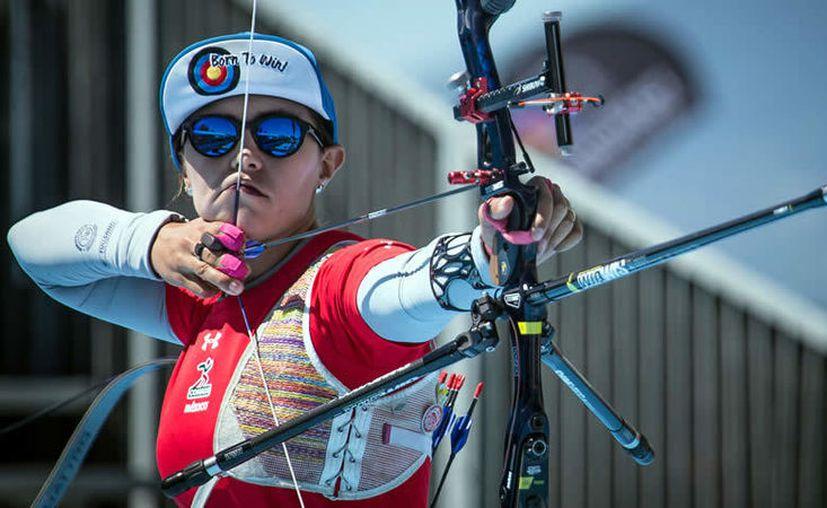 Desde hace 18 años, Aida Román empezó con el tiro con arco. (Foto: Medio Tiempo)