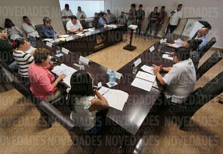 Ayer se realizó la sesión ordinaria de Cabildo número 39. (Gustavo Villegas/SIPSE)