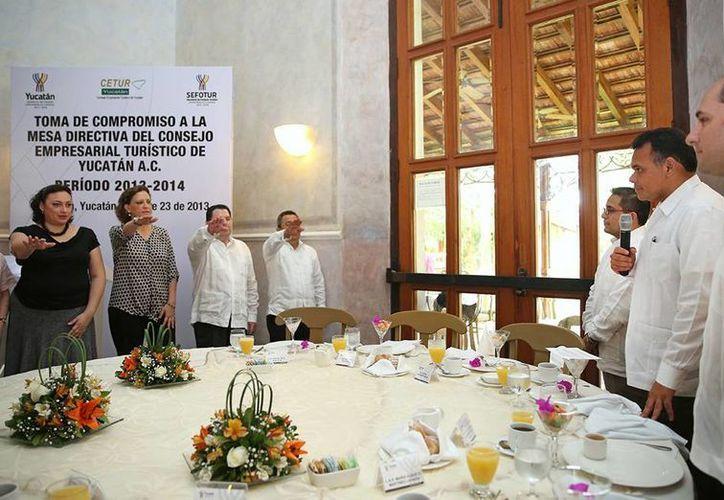 La nueva directiva del Consejo de Promoción Turística estará al frente de la organización hasta 2014. (Cortesía)