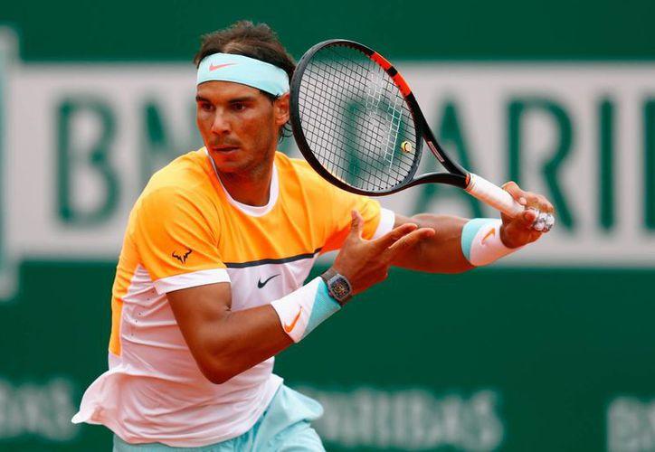 Rafael Nadal regresó a las canchas tras once semanas de inactividad, debido a una lesión en la muñeca.(Archivo/AP)