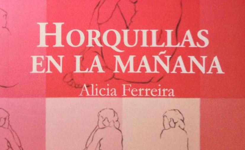 La portada es obra de la artista visual Silvana Arciniega. (Faride Cetina/SIPSE)