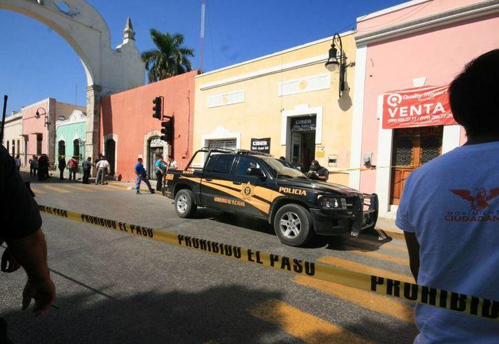 Este es el cibercafé de San Juan donde murió el 17 de septiembre el encargado. Este lunes fueron arrestados dos sospechosos e imputado uno de ellos. (Milenio Novedades)