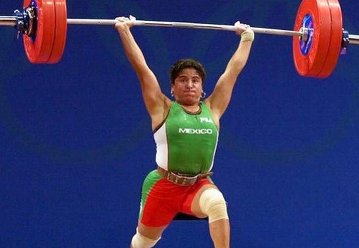Soraya Jiménez fue la primera mujer mexicana en ganar una medalla en los Juegos Olímpicos de Sydney 2000.(Notimex)