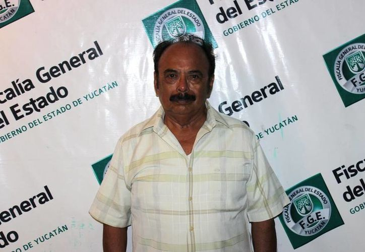 José Enrique Lavadores tras su detención por fraude. (FGE)