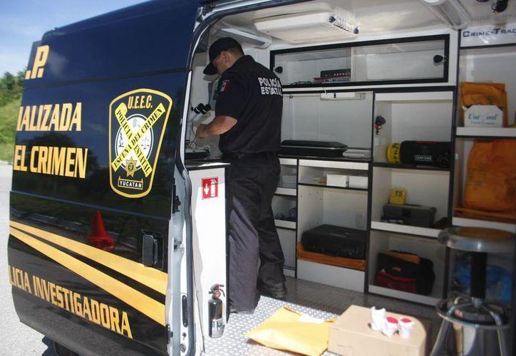 Unidades de la Policía Investigadora Especializada en el Crimen. (Milenio Novedades)