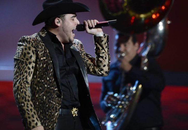 El cantante Gerardo Ortiz es el que más nominaciones tiene (14) en los premios Billboard de la Música Mexicana. (EFE/Archivo)