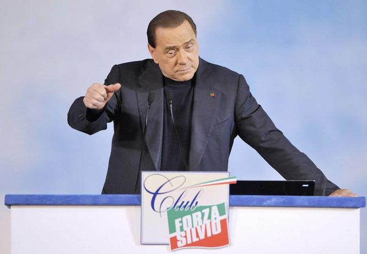 Il Cavaliere abandonó la coalición de gobierno de Enrico Letta hace dos semanas, en represalia por su expulsión del Parlamento. (EFE)