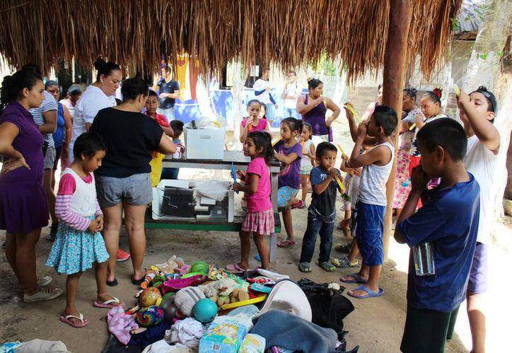 Piden a voluntarios donar objetos en buen estado. (Adrián Barreto/SIPSE)