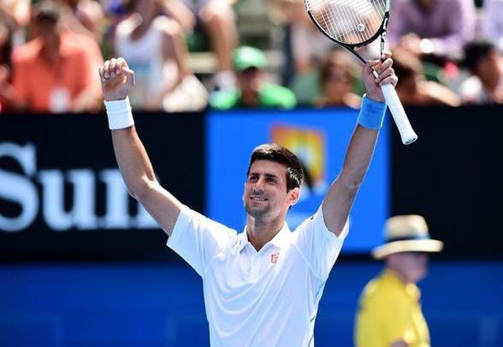 Novak Djokovic dice que se encuentra en el mejor momento de su carrera y se encuentra listo para derrotar a Rafael Nadal. (Fotografía: Notimex)