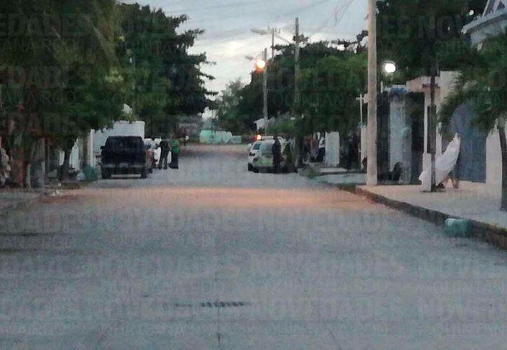 Los sucesos ocurrieron en la Supermanzana 76 de Cancún. (Foto: Eric Galindo/SIPSE)