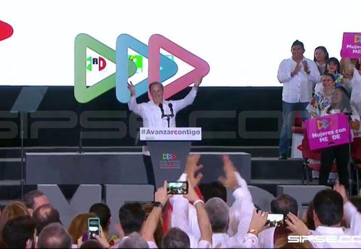 """Mérida, Yucatán se convirtió este día en """"punta de lanza"""" de un recorrido a nivel nacional en busca votos para la elección del 1 de julio. (SIPSE)"""
