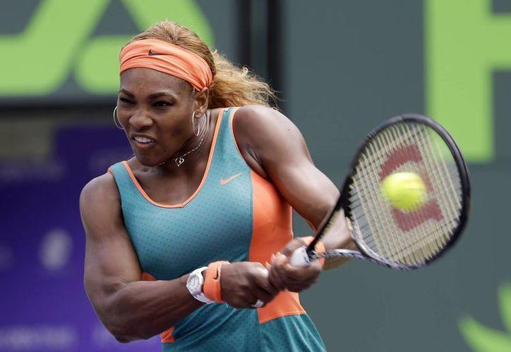 Serena Williams ha ganado 16 de sus 18 duelos con Maria Sharapova, y no pierde ante la rusa desde 2004. (Agencias)