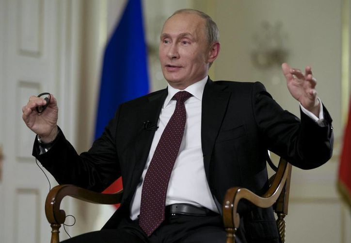 Vladimir Putin alabó las decisiones de los países que han rechazado participar en la operación estadounidense contra Siria. (Agencias)
