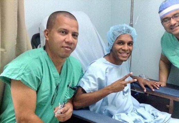 <i>El Negrito</i> Quintero, refuerzo del CF Mérida,  fue operado en Panamá. (Milenio Novedades)