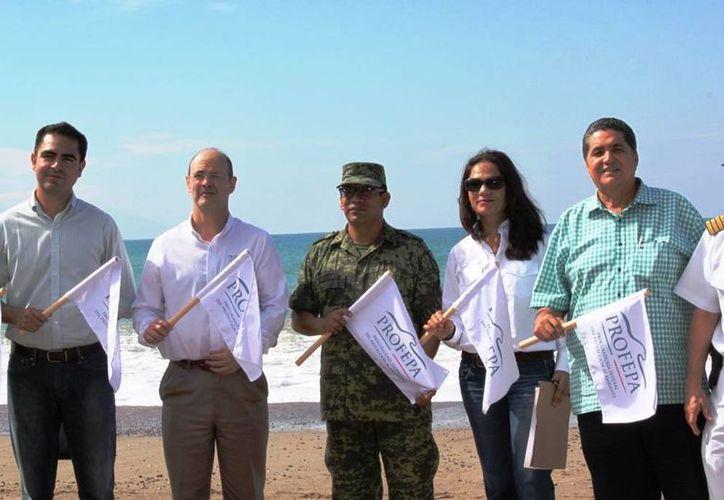 """Cinco playas mexicanas  cuentan con el certificado """"Blue Flag"""". (Redacción/SIPSE)"""