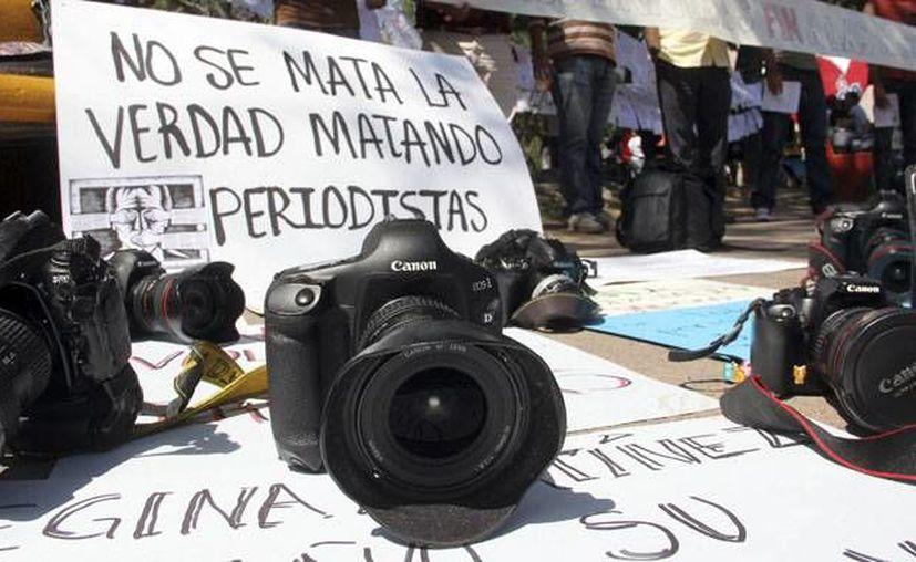 En cinco años han muerto 50 periodistas en México.(lapatilla.com)