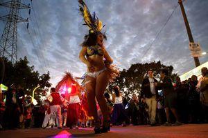 Exitoso cierre de carnaval en Cancún