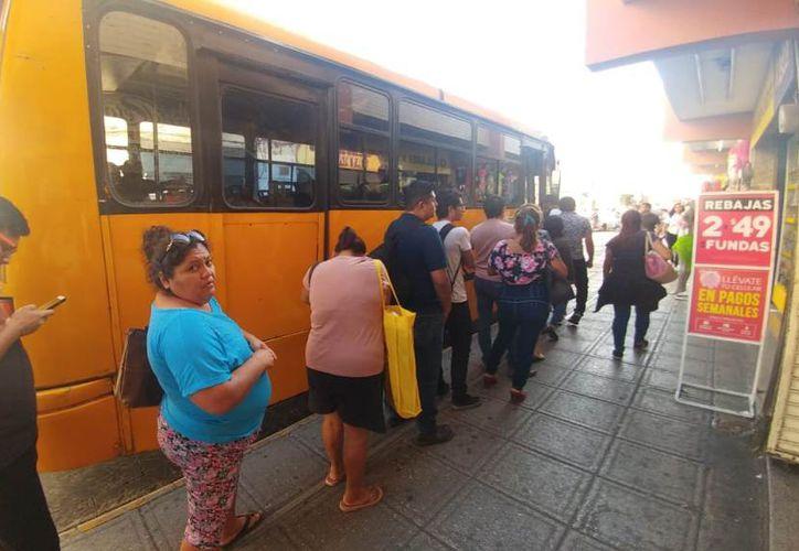 El servicio de transporte continúa siendo uno de los más utilizados en la ciudad, aunque también sigue presentando deficiencias en las unidades más antiguas. (Foto: Jorge Acosta)