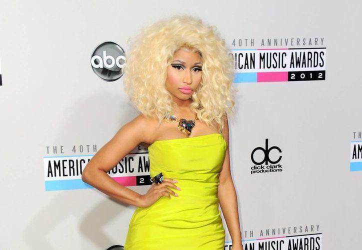 Minaj: recibiré un Grammy eventualmente. No tengo ningún apuro. (AP)