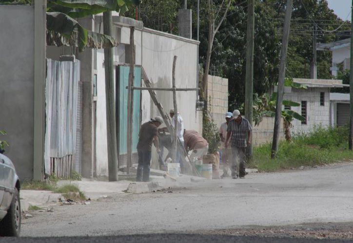 Los apoyos consisten en un subsidio de hasta 45 mil pesos para la edificación de un cuarto seguro. (Archivo/SIPSE)