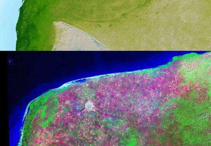 El equipo de geólogos estadunidenses y holandeses utiliza las técnicas más actualizadas. (nasa.gov)